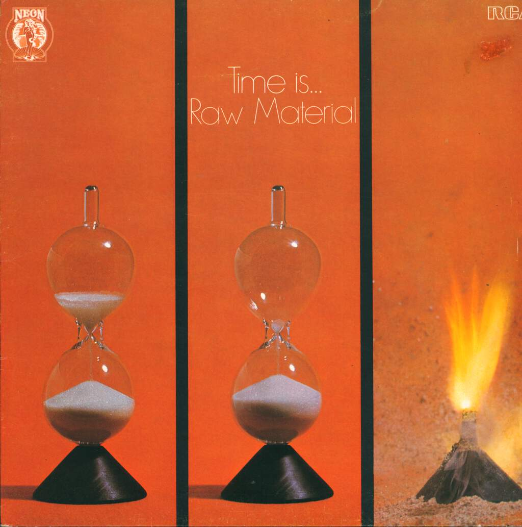 Raw Material: Time Is..., LP (Vinyl)