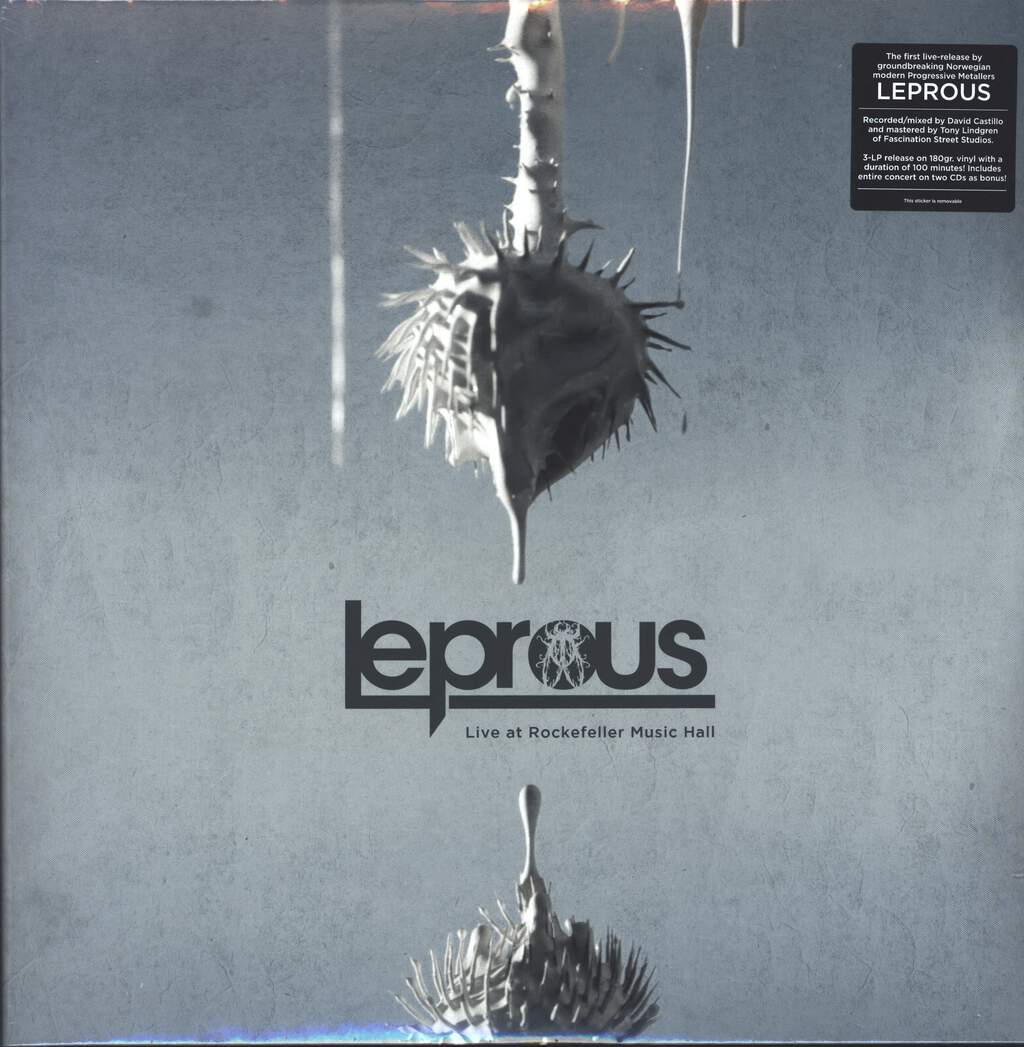 Leprous: Live At Rockefeller Music Hall, LP (Vinyl)