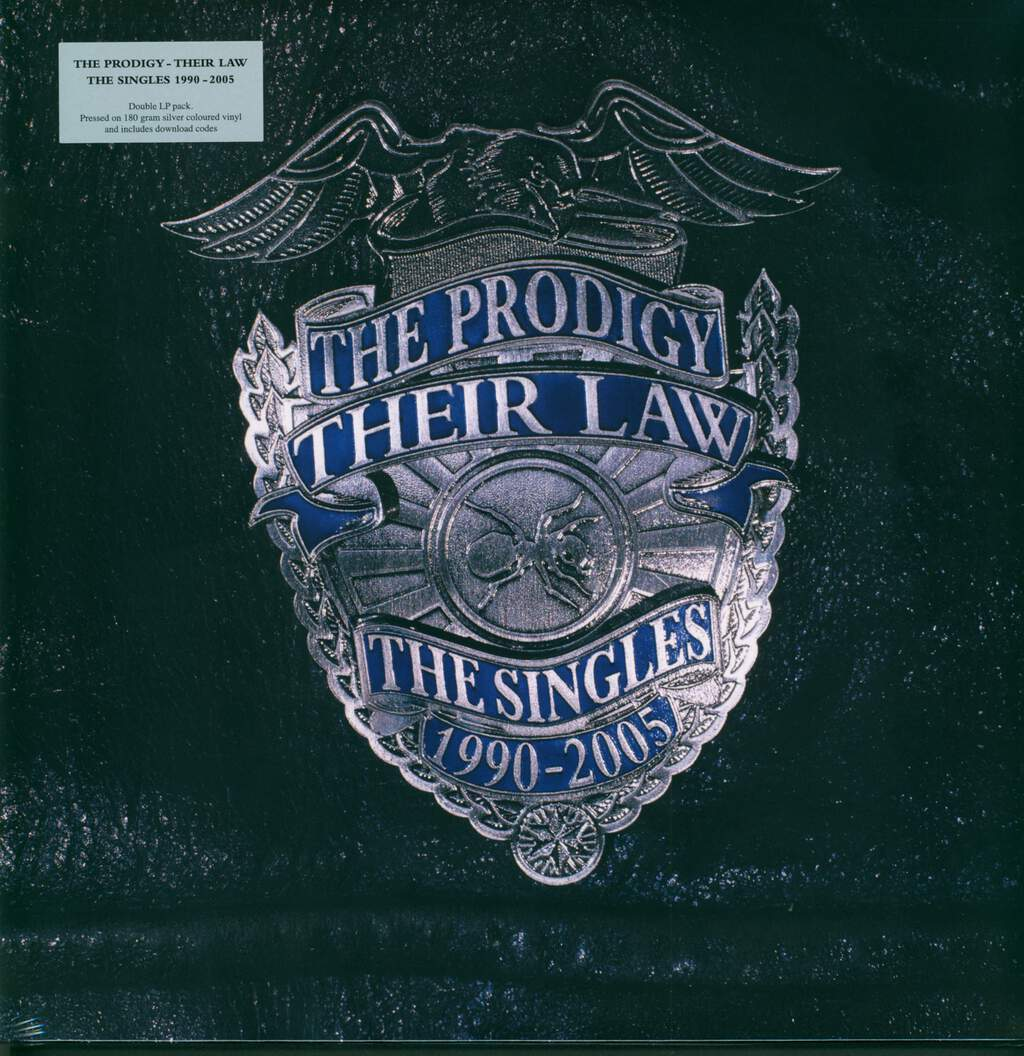 The Prodigy: Their Law - The Singles 1990-2005, 2×LP (Vinyl)