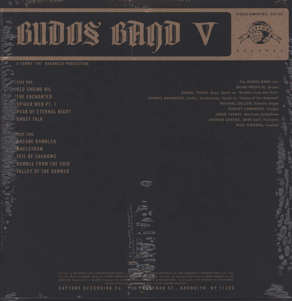 The Budos Band: V, LP (Vinyl)