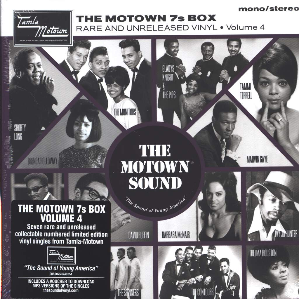 "Various: The Motown 7s Box (Rare And Unreleased Vinyl • Volume 4), 7×7"" Single (Vinyl)"