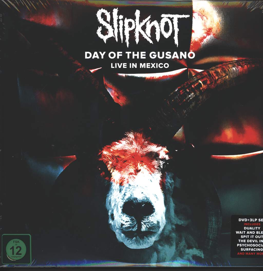 Slipknot: Day Of The Gusano (Live In Mexico), 3×LP (Vinyl)