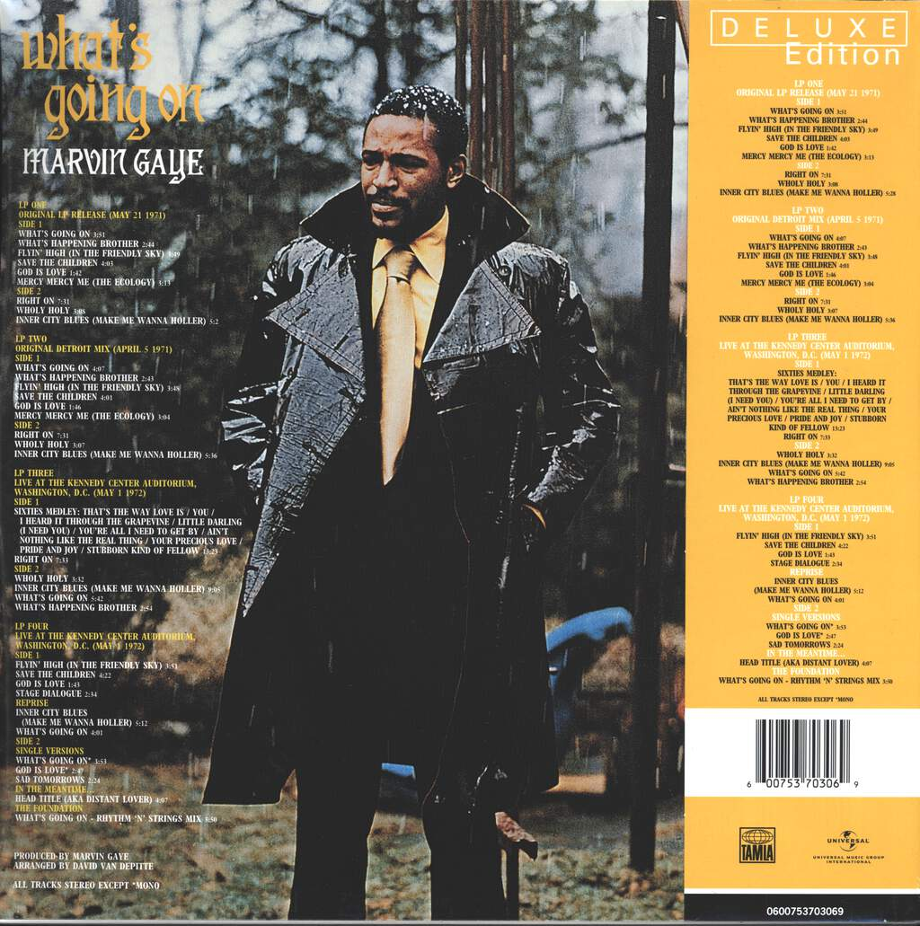 Marvin Gaye: What's Going On, LP (Vinyl)