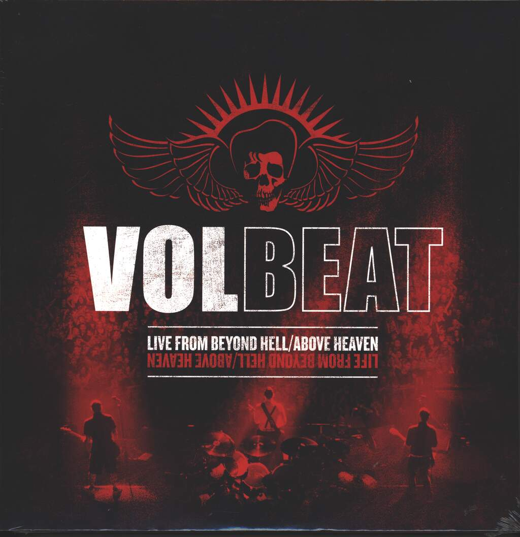 Volbeat: Live From Beyond Hell / Above Heaven, 3×LP (Vinyl)