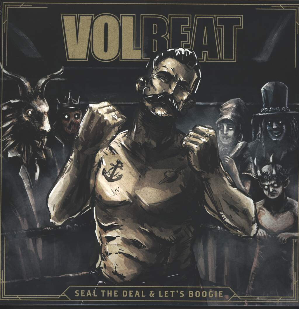Volbeat: Seal The Deal & Let's Boogie, 2×LP (Vinyl)