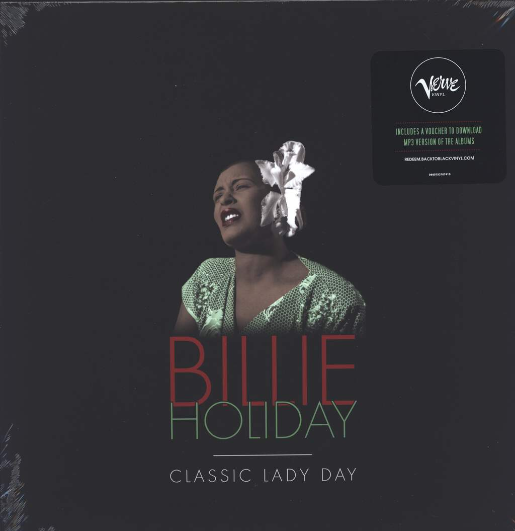 Billie Holiday: Classic Lady Day, 5×LP (Vinyl)