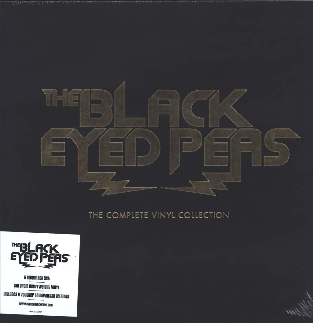 Black Eyed Peas: The Complete Vinyl Collection, 12×LP (Vinyl)