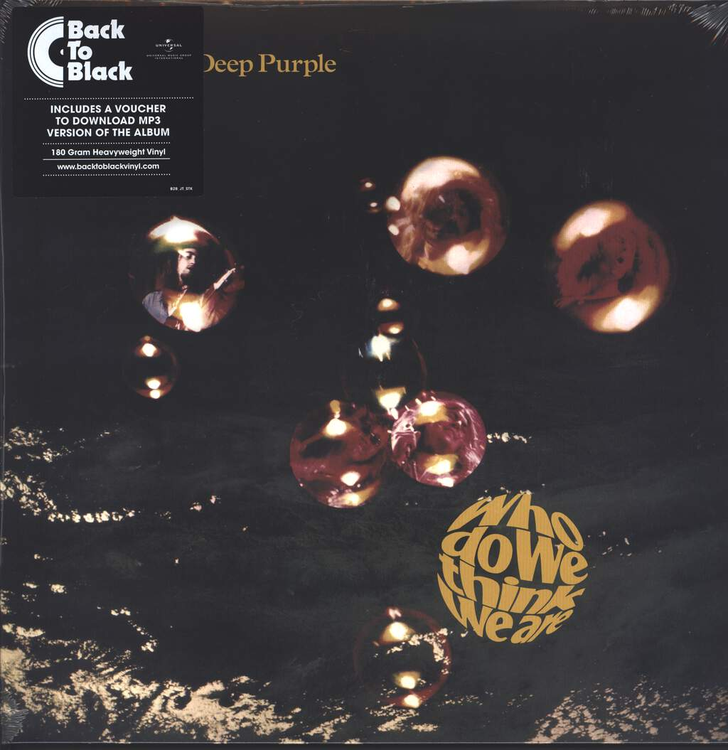 Deep Purple: Who Do We Think We Are, LP (Vinyl)