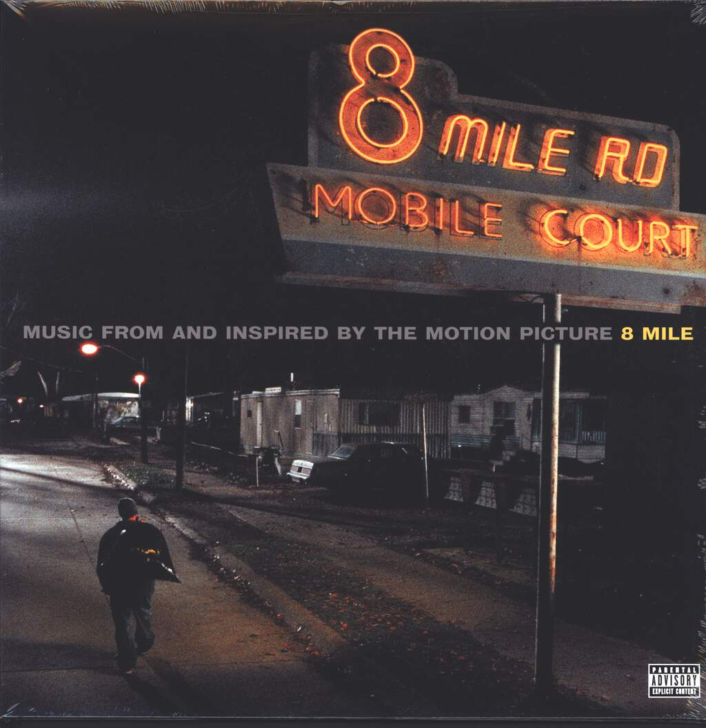 Various: Music From And Inspired By The Motion Picture 8 Mile, 2×LP (Vinyl)