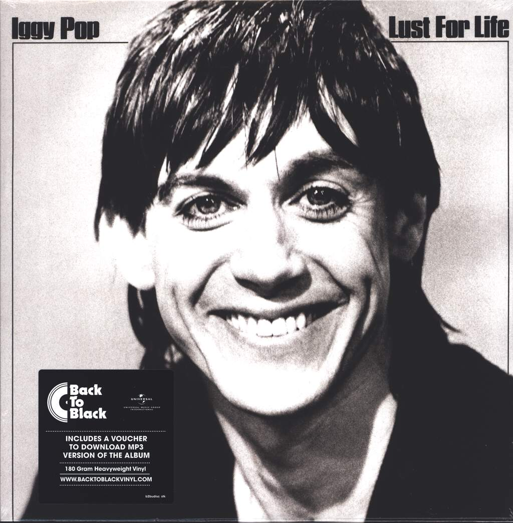 Iggy Pop: Lust For Life, LP (Vinyl)