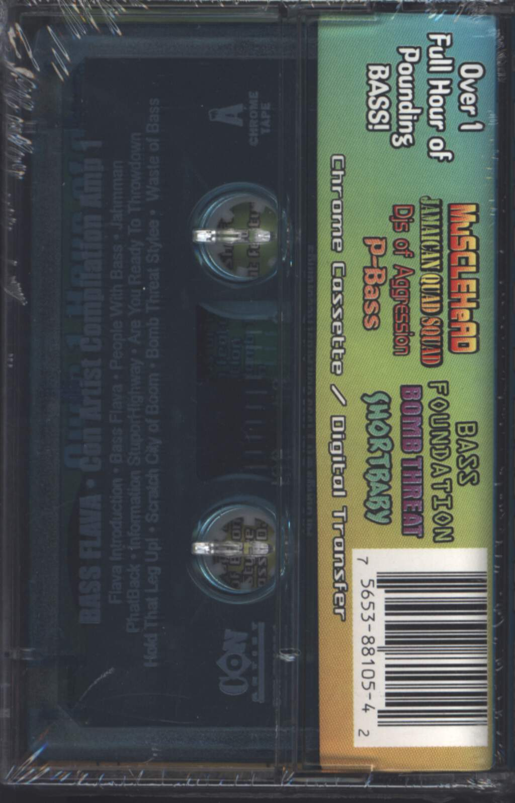 Various: Bass Flava: Con Artist Recordings Compilation Amp 1, Compact Cassette