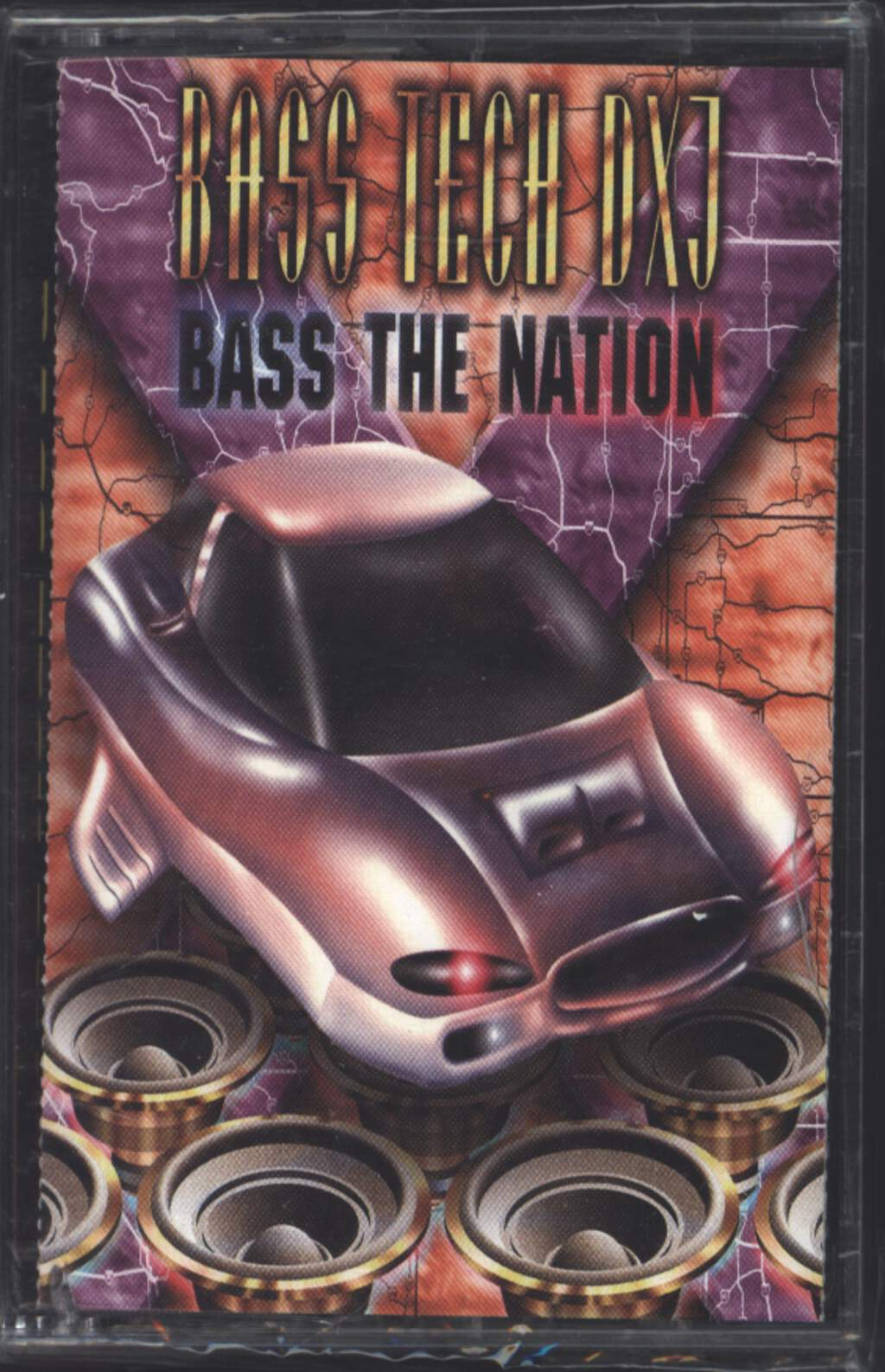 Bass Tech DXJ: Bass The Nation, Tape