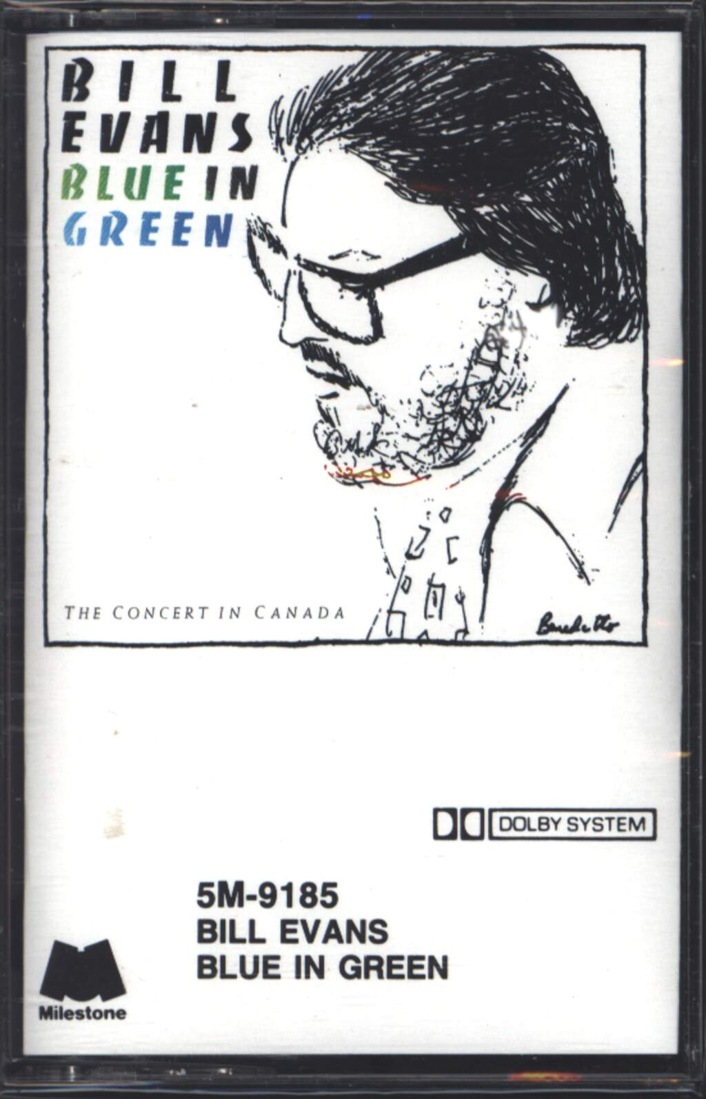 Bill Evans: Blue In Green - The Concert In Canada, Compact Cassette
