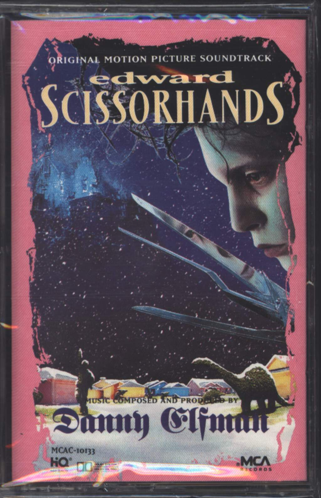Danny Elfman: Edward Scissorhands (Original Motion Picture Soundtrack), Tape