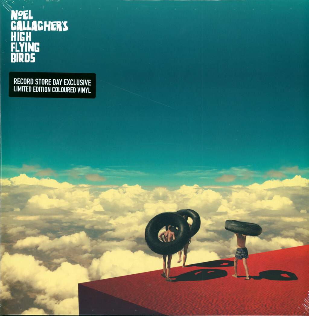 "Noel Gallagher's High Flying Birds: Wait And Return EP, 12"" Maxi Single (Vinyl)"