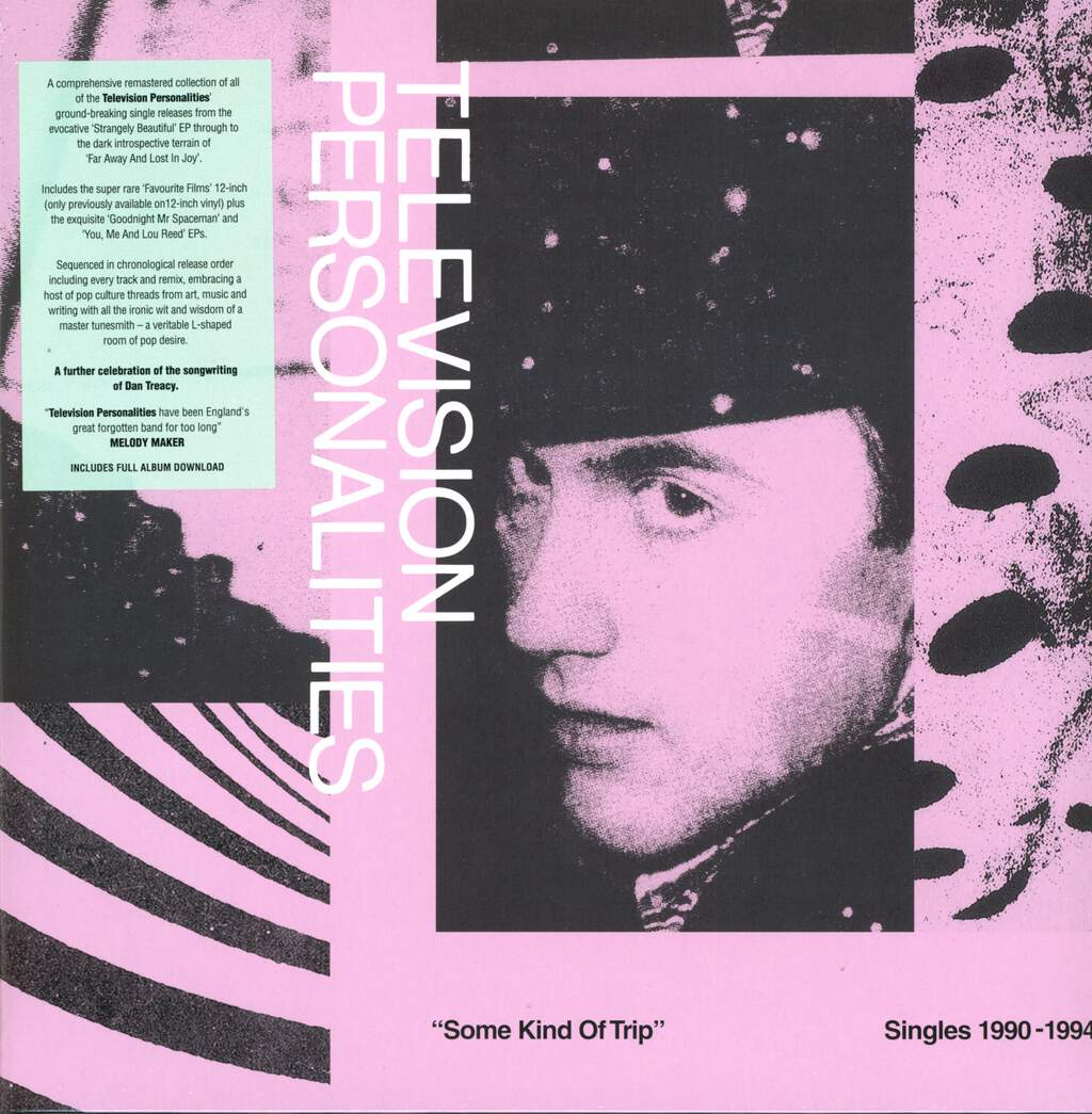 Television Personalities: Some Kind Of Trip (Singles 1990-1994), 2×LP (Vinyl)