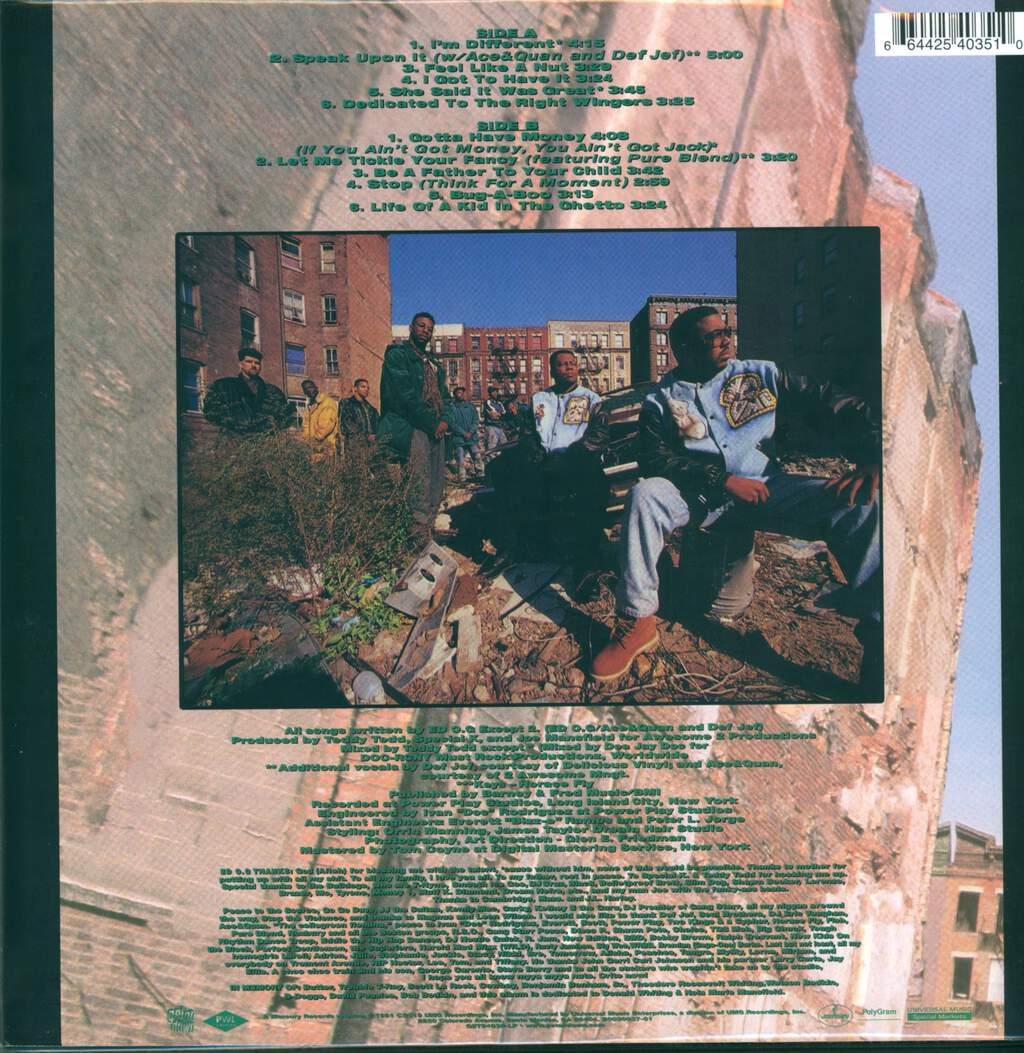 Ed O.G & Da Bulldogs: Life Of A Kid In The Ghetto, LP (Vinyl)