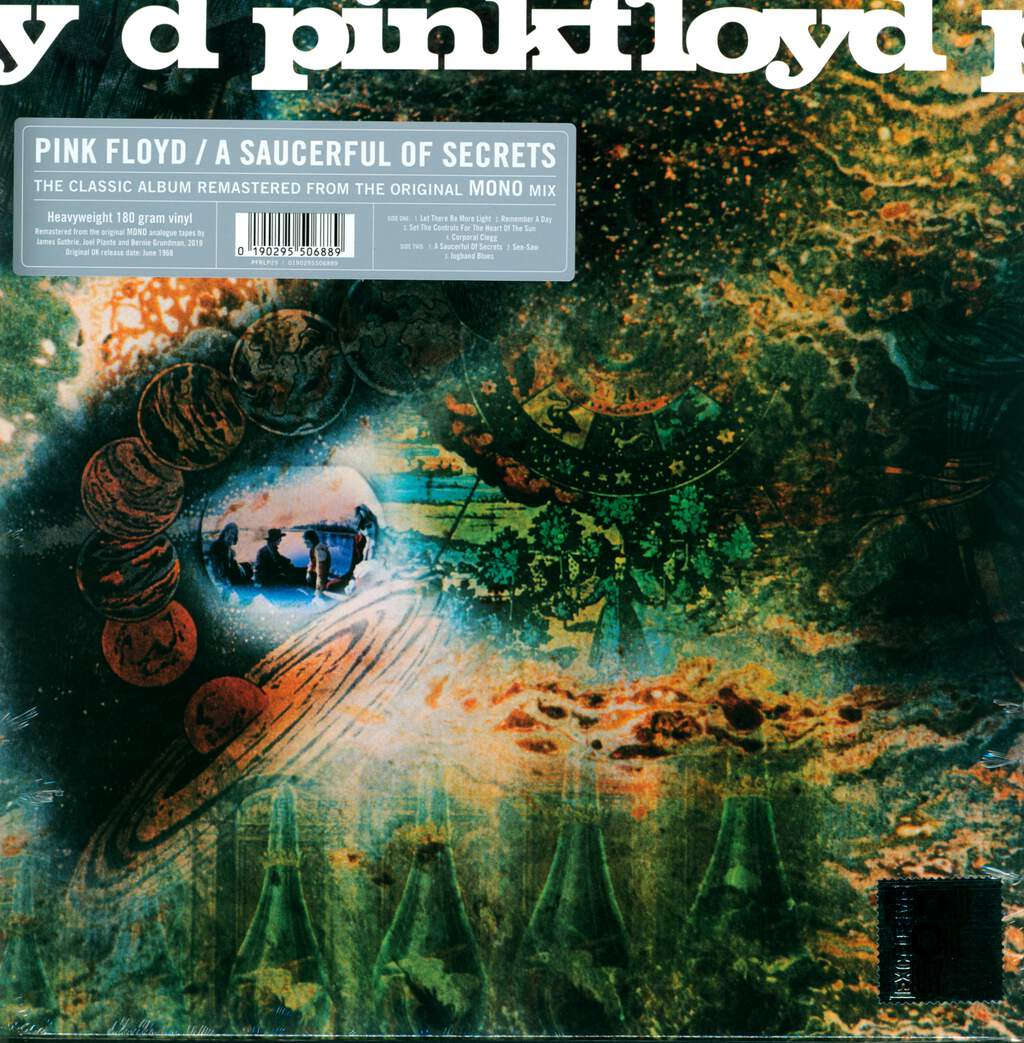 Pink Floyd: A Saucerful Of Secrets, LP (Vinyl)