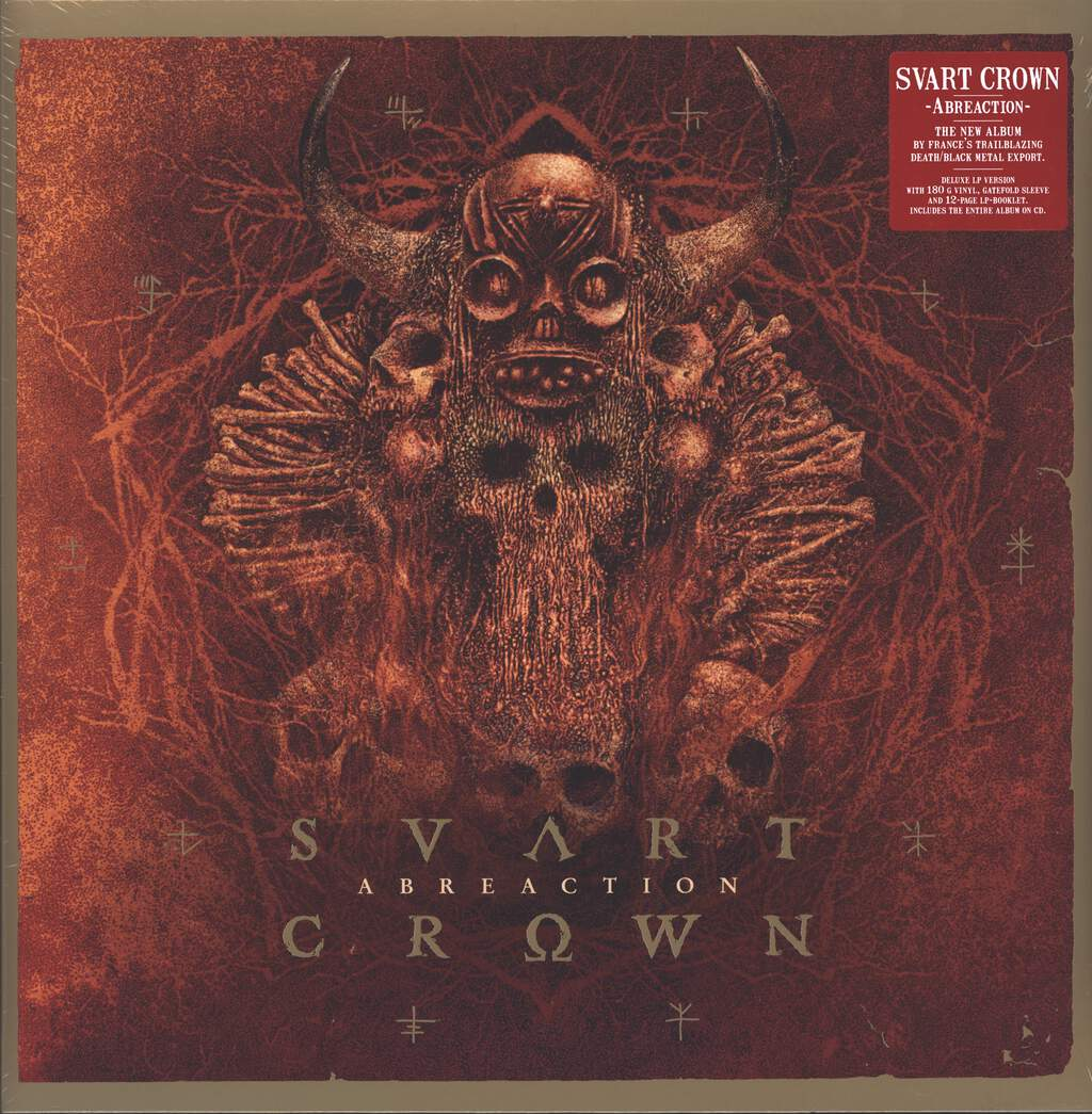 Svart Crown: Abreaction, LP (Vinyl)