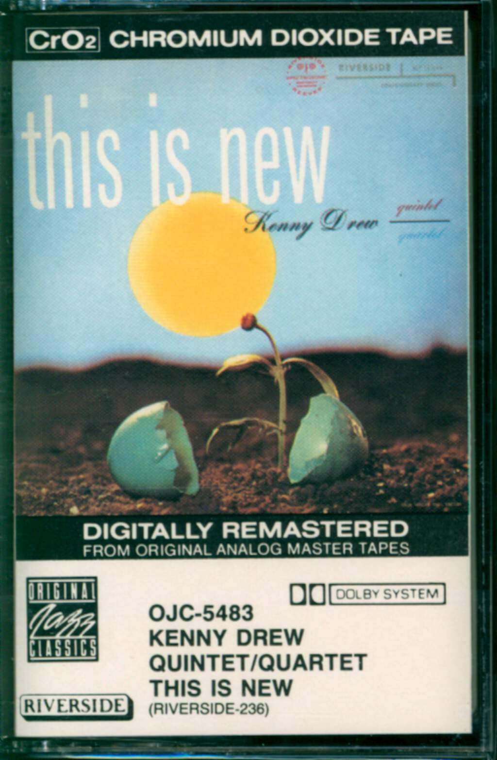 Kenny Drew Quintet: This Is New, Compact Cassette