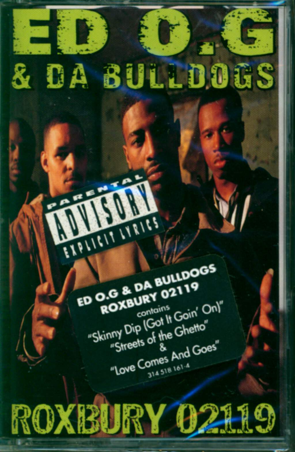 Ed O.G & Da Bulldogs: Roxbury 02119, Tape