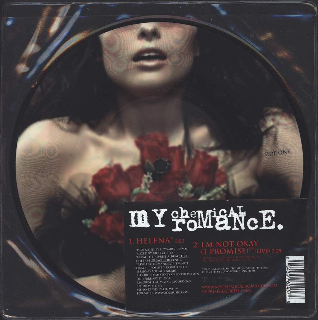 "My Chemical Romance: Helena, 7"" Single (Vinyl)"