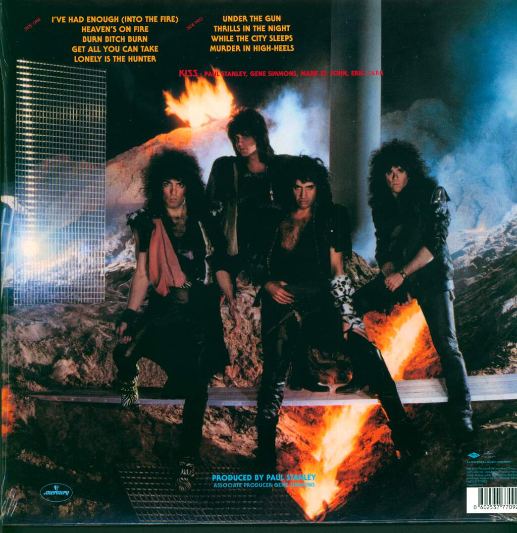 Kiss: Animalize, LP (Vinyl)