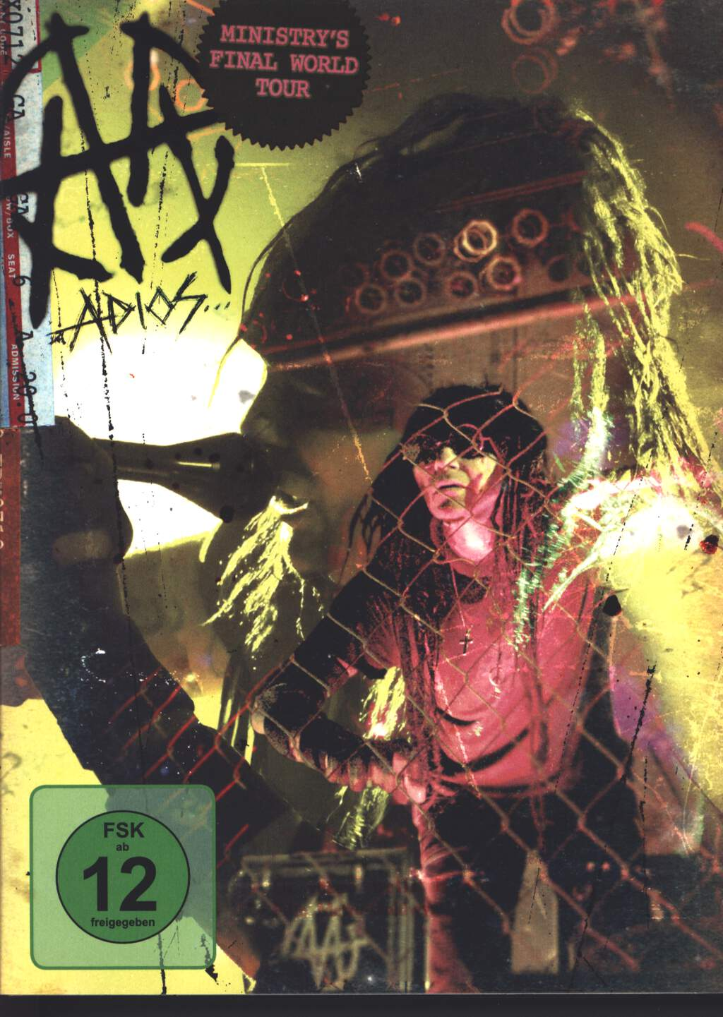 Ministry: Adios... Puta Madres, DVD