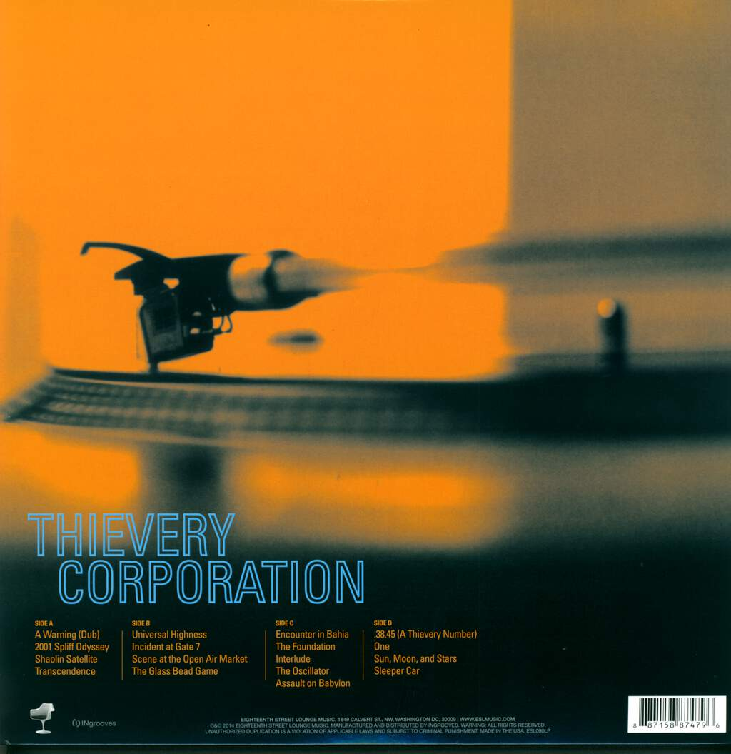 Thievery Corporation: Sounds From The Thievery Hi-Fi, 2×LP (Vinyl)