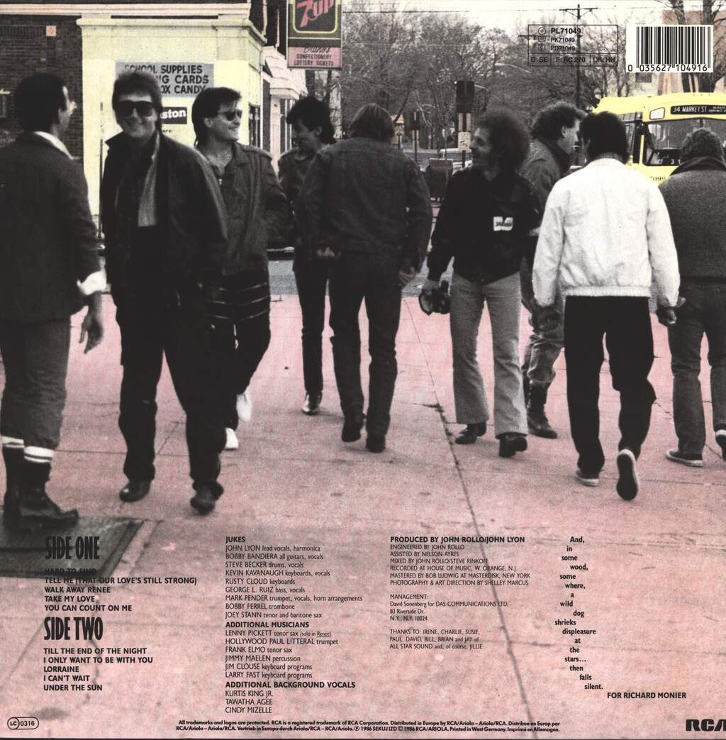 Southside Johnny & The Asbury Jukes: At Least We Got Shoes, LP (Vinyl)