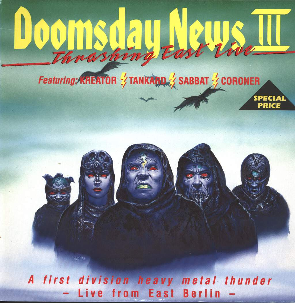 Various: Doomsday News III. Thrashing East Live, LP (Vinyl)