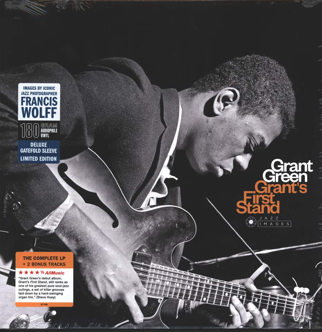 Grant Green: Grant's First Stand, LP (Vinyl)