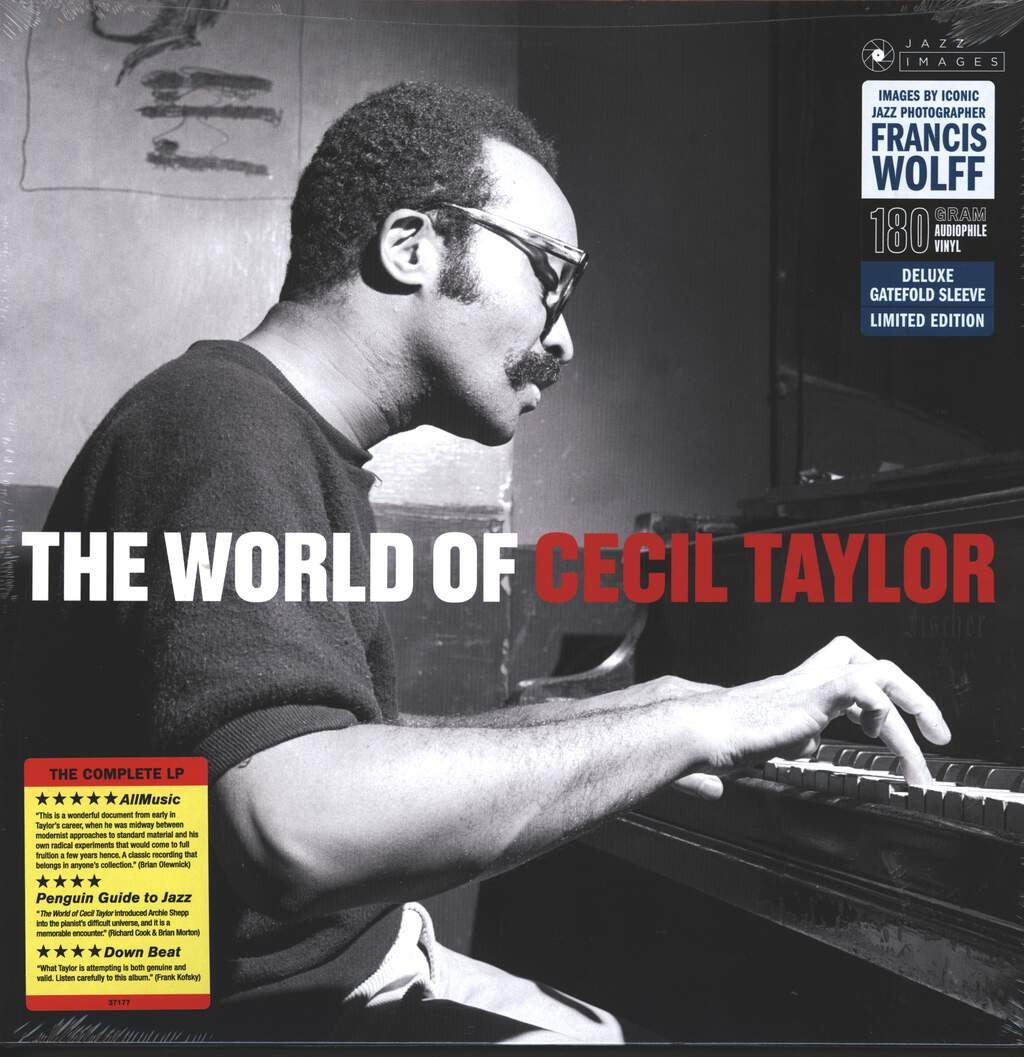 Cecil Taylor: The World of Cecil Taylor, LP (Vinyl)