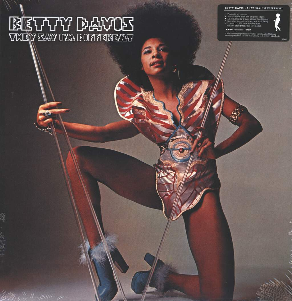 Betty Davis: They Say I'm Different, LP (Vinyl)