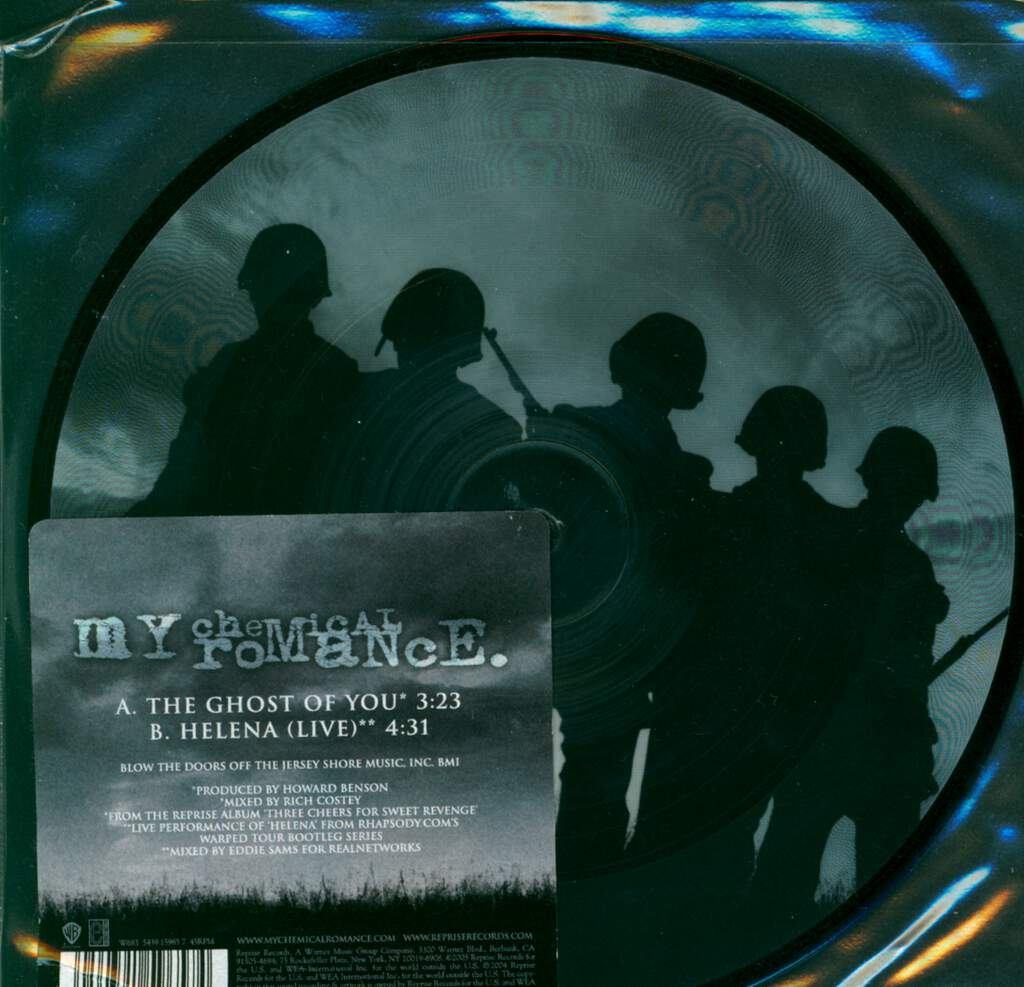 """My Chemical Romance: The Ghost Of You, 7"""" Single (Vinyl)"""