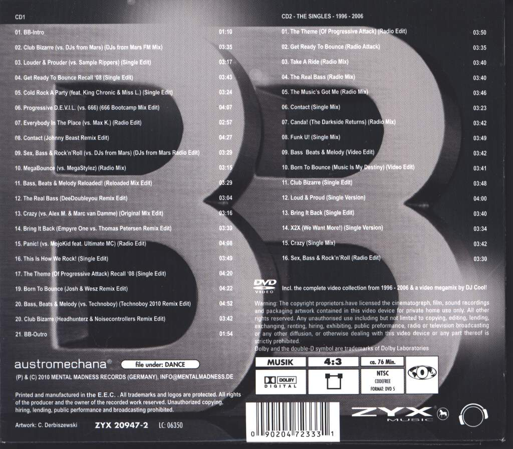 Brooklyn Bounce: BB-Styles (Deluxe Edition), 3×CD