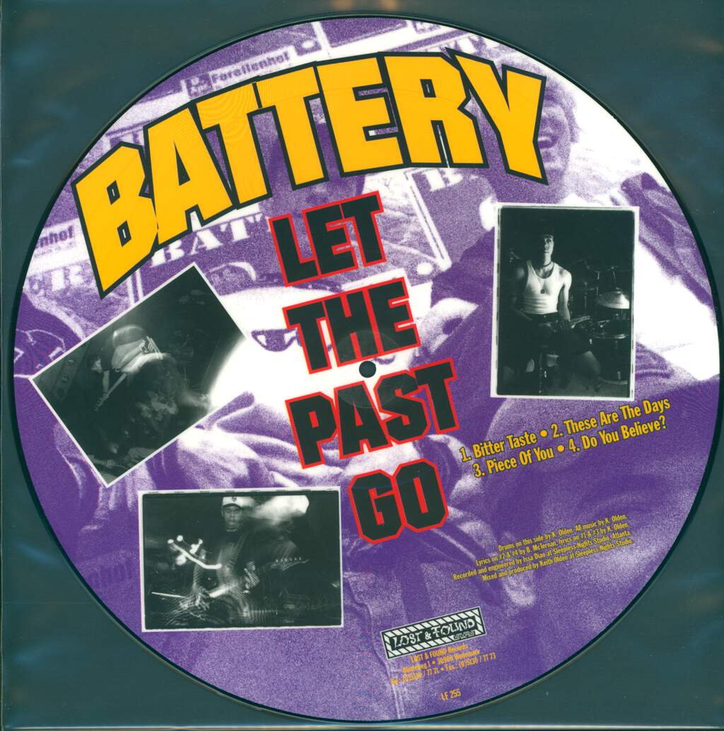 Battery: Let The Past Go / We Won't Fall, LP (Vinyl)