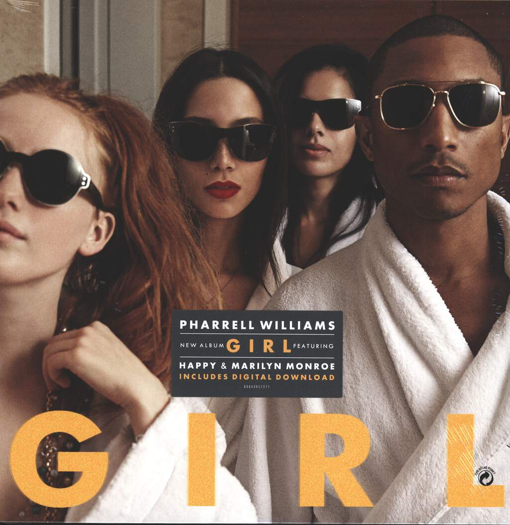 Pharrell Williams: G I R L, LP (Vinyl)