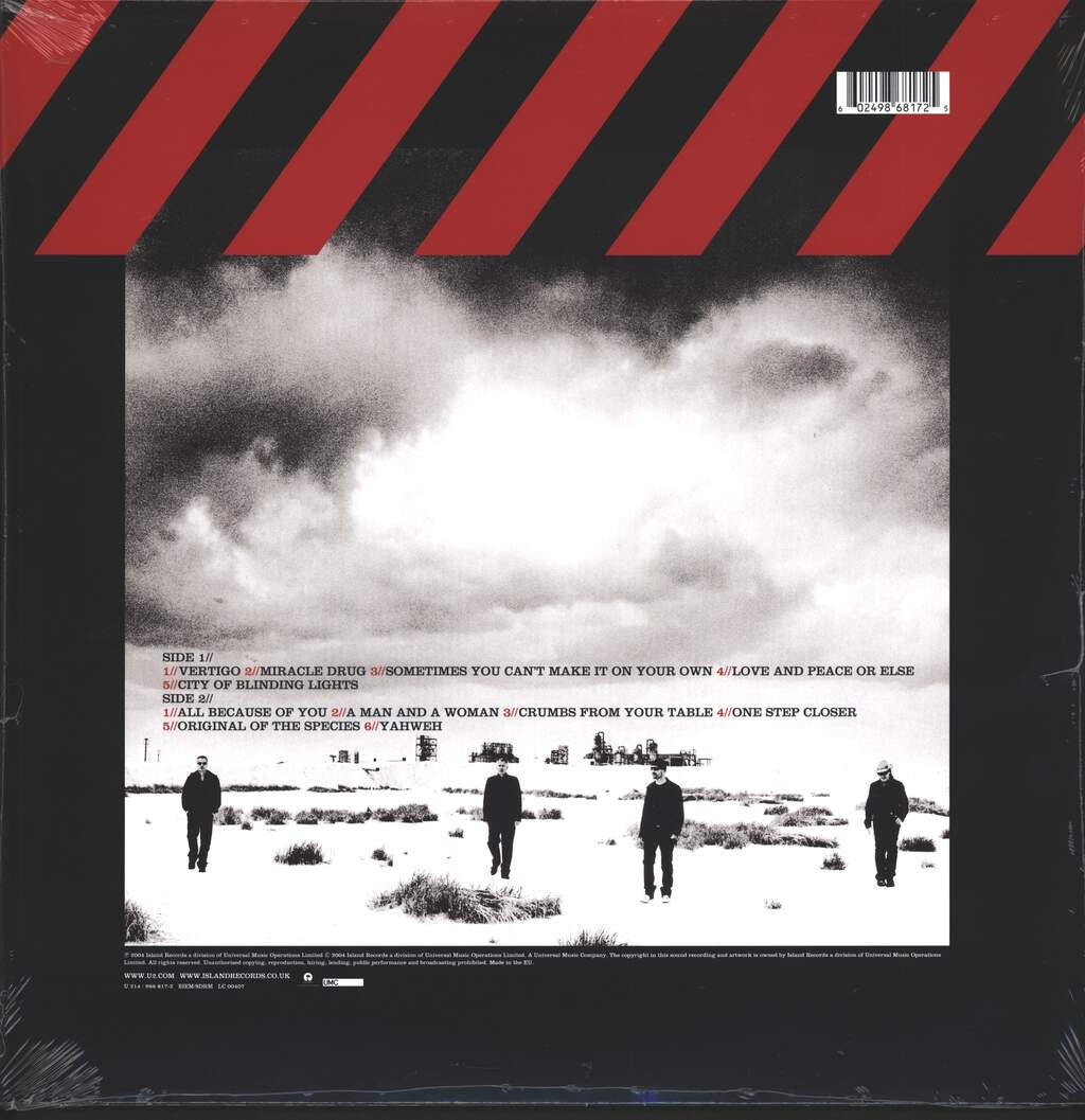 U2: How To Dismantle An Atomic Bomb, LP (Vinyl)