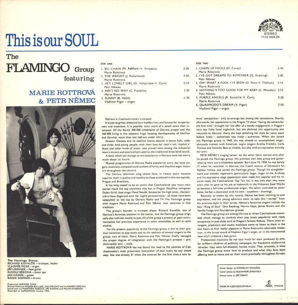 Flamingo: This Is Our Soul, LP (Vinyl)
