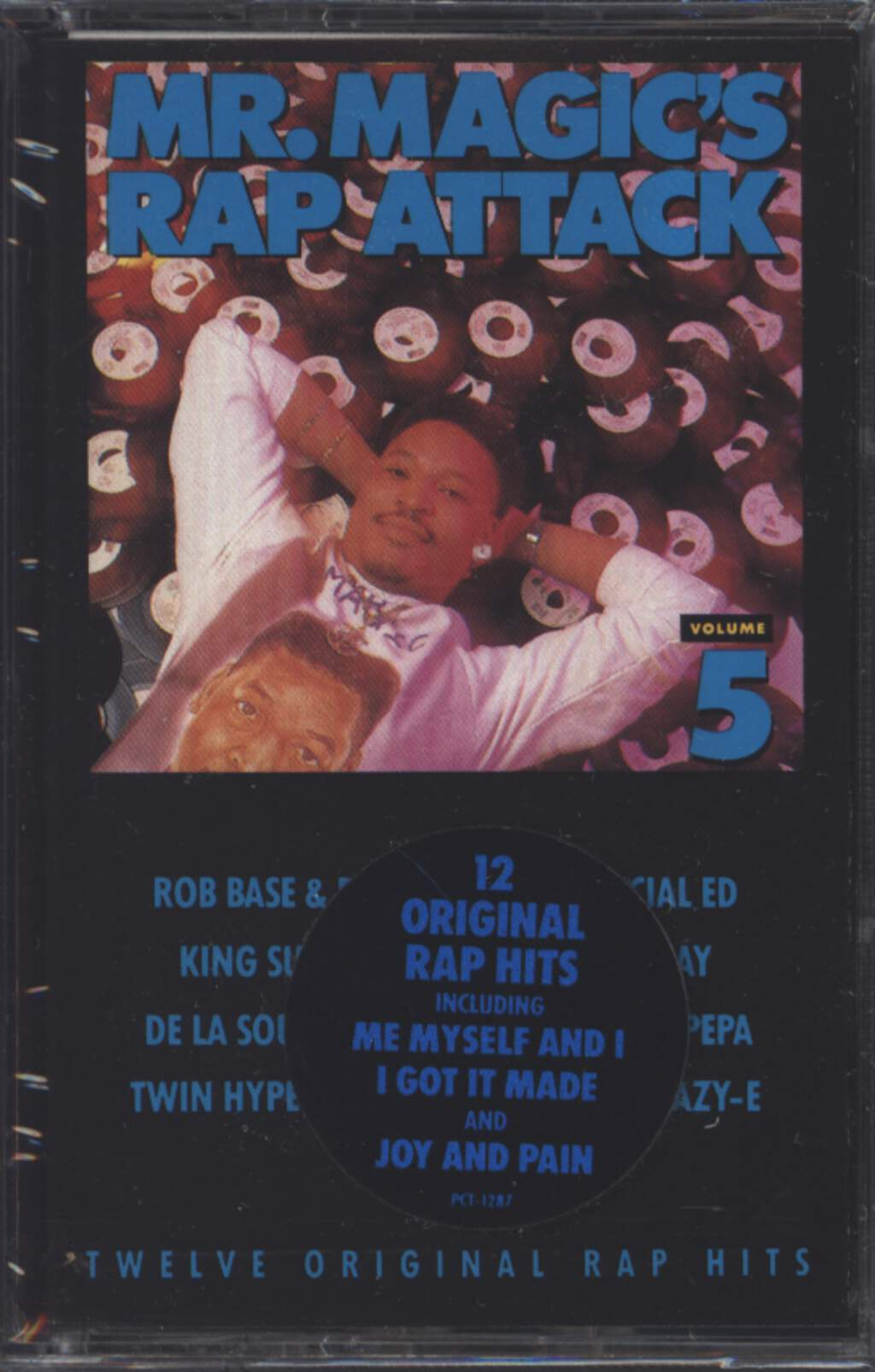 Mr. Magic: Mr. Magic's Rap Attack Volume 5, Tape