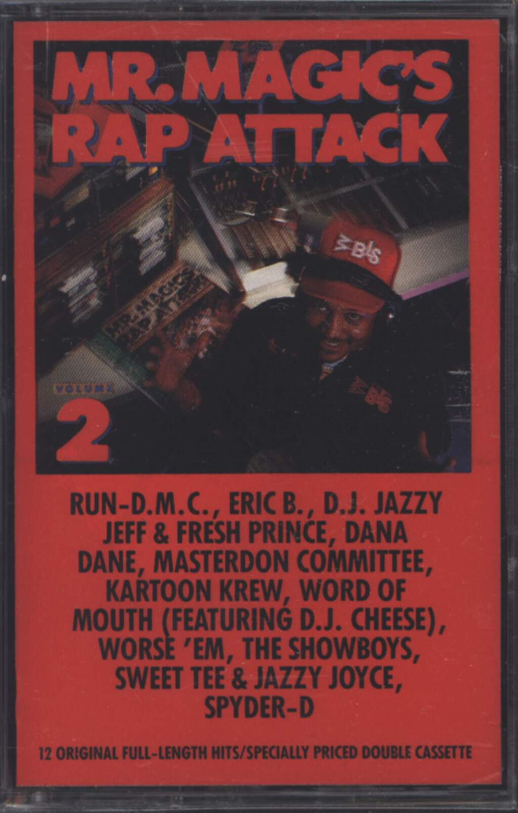 Mr. Magic: Mr. Magic's Rap Attack Volume 2, Compact Cassette