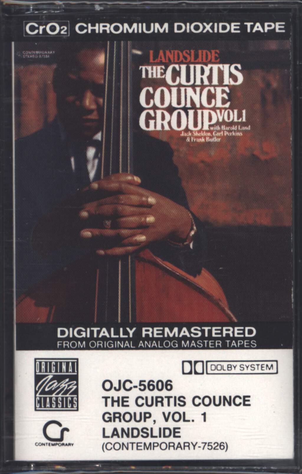 The Curtis Counce Group: Vol 1: Landslide, Tape
