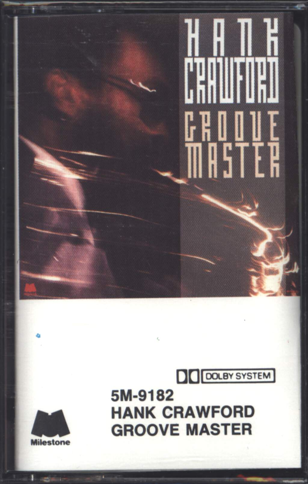 Hank Crawford: Groove Master, Compact Cassette