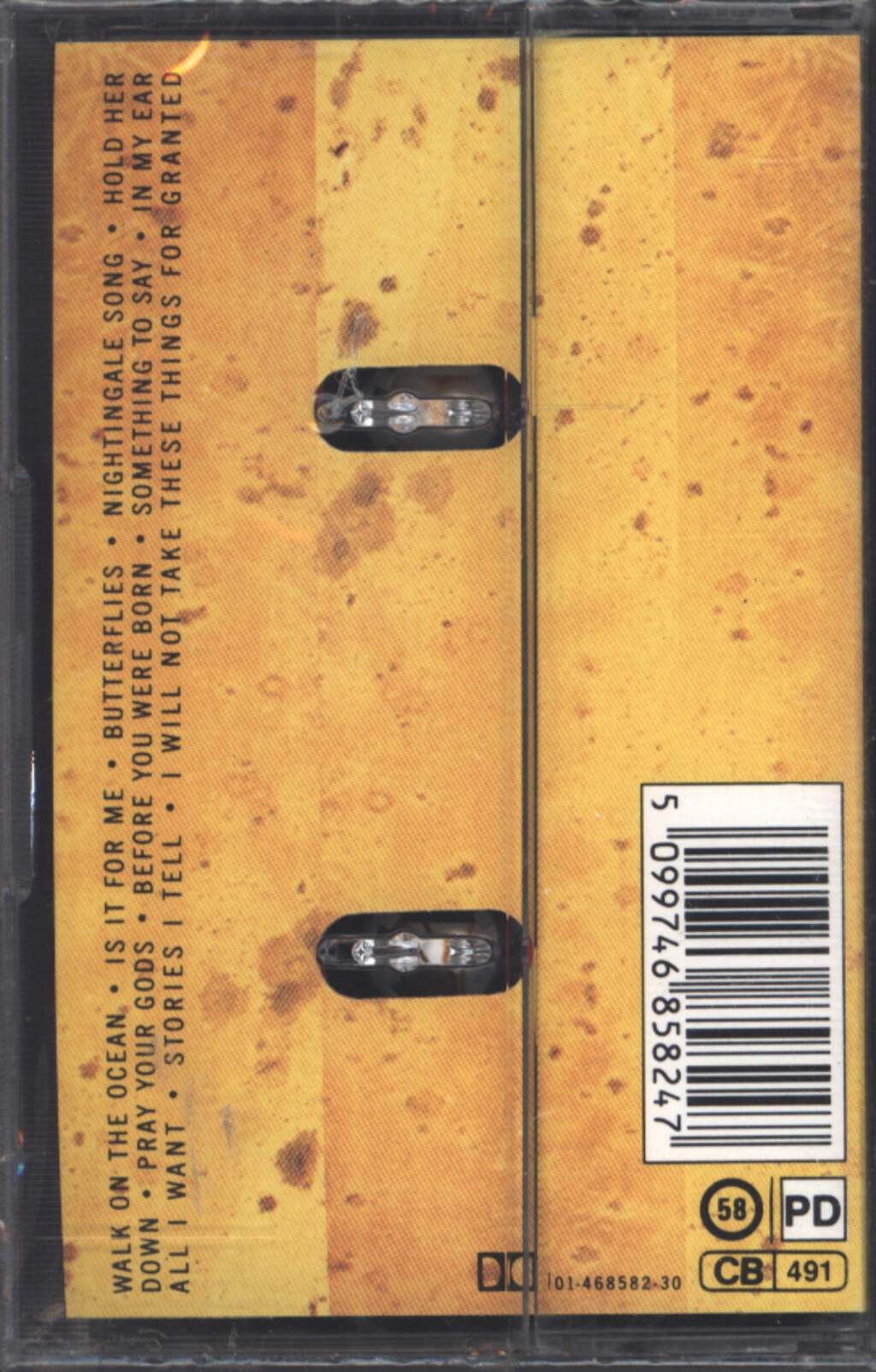 Toad The Wet Sprocket: Fear, Tape