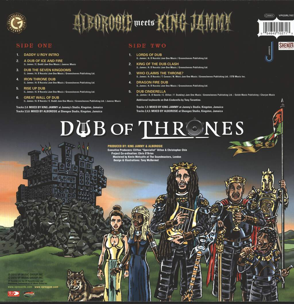 Alborosie: Dub Of Thrones, LP (Vinyl)