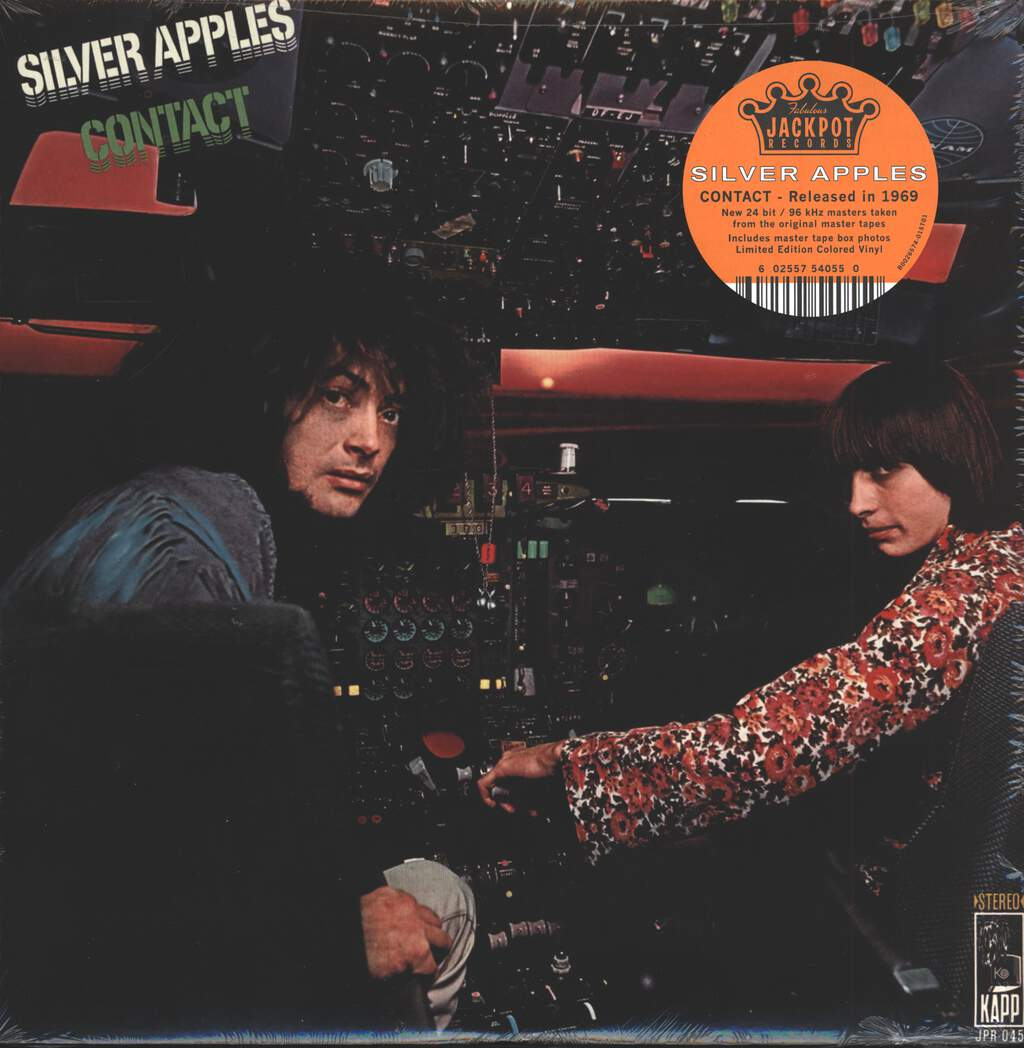 Silver Apples: Contact, LP (Vinyl)