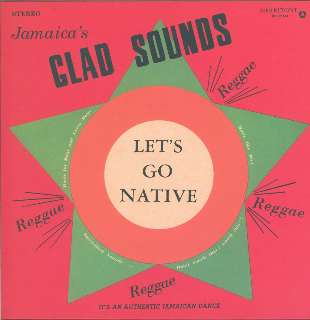 Gladstone Anderson: Jamaica's Glad Sounds - Let's Go Native, LP (Vinyl)