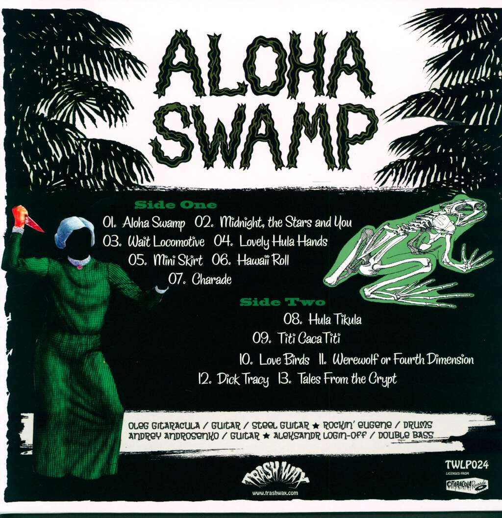 Aloha Swamp: Swamp Vacation (All Inclusive), LP (Vinyl)