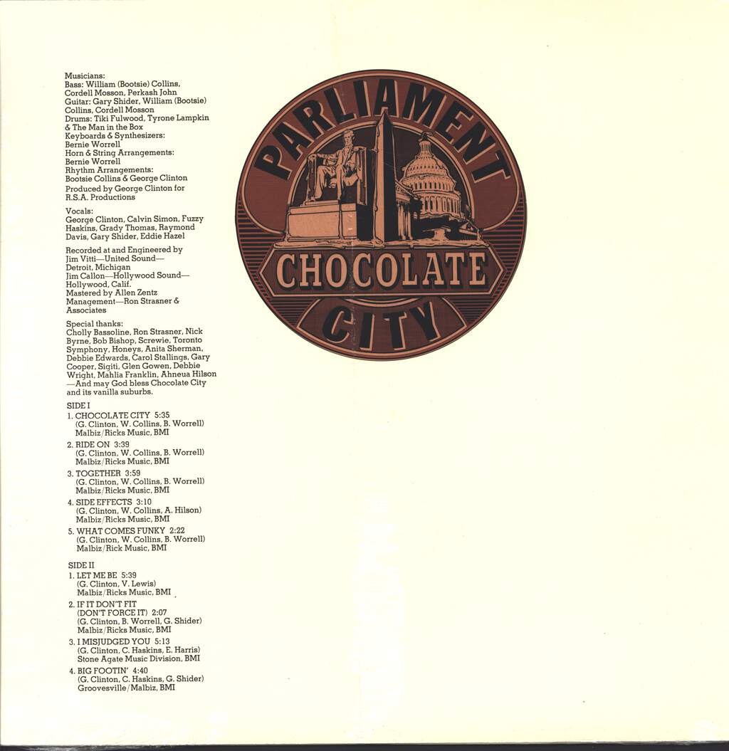 Parliament: Chocolate City, LP (Vinyl)